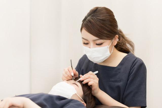 【見学会用】Eyelash Salon Blanc (ブラン)パルティ・フジ垣生店の画像・写真